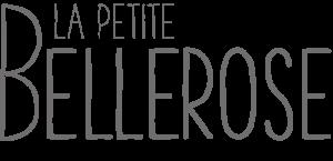 La petite Bellerose, Logo Schrift