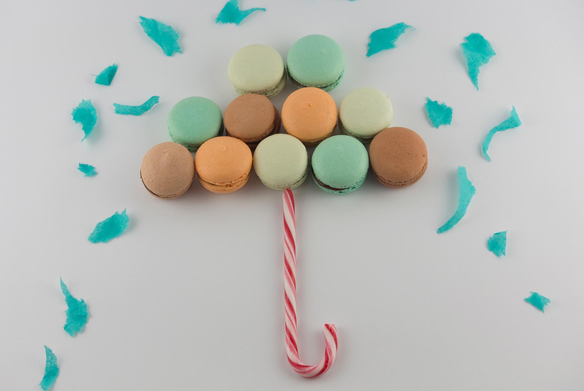 La petite Bellerose, Macaron Regenschirm