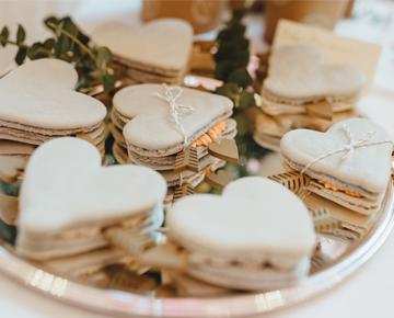 Macaron_Herzen, Hochzeit